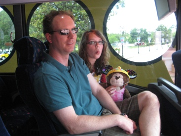 On the Magical Express Shuttle