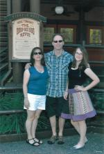 This was before we had dinner and a show at the Hoop Dee Doo Revue at the Wilderness Campground.