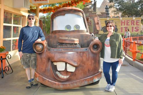 Mater from Cars!