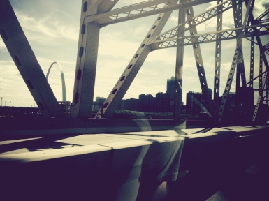 The arch in St. Louis!