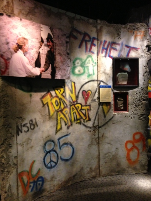 Pieces from the Berlin Wall