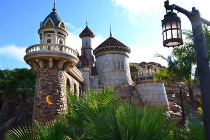 The Little Mermaid's Castle