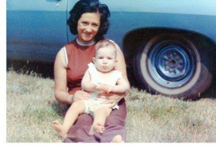Mom and me again