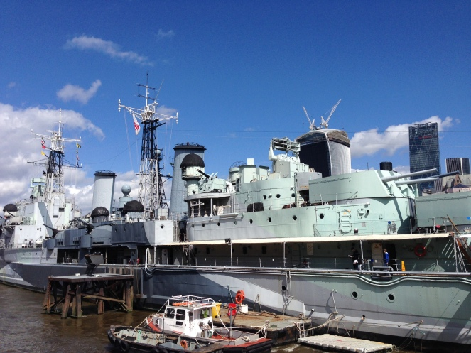 The HMS Belfast