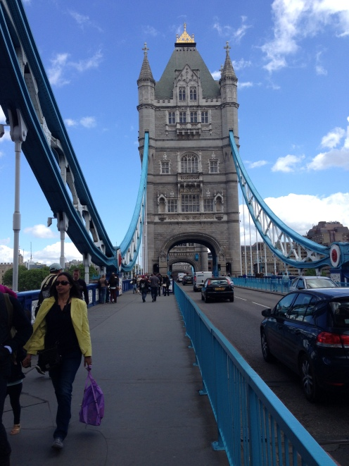 Another view of the Tower Bridge