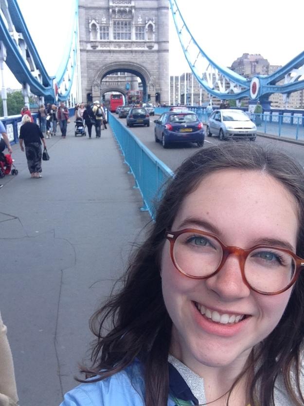 Lexie on the London Bridge