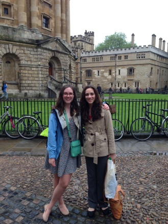 Lexie and Julie at Oxford