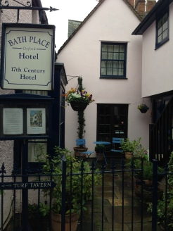 The Bath Place hotel - built in the 1600's!