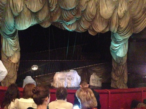 Waiting for Phantom of the Opera to begin