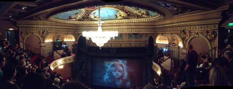 Inside the Queen's Theatre