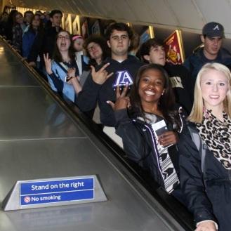 Descending to the Tube.
