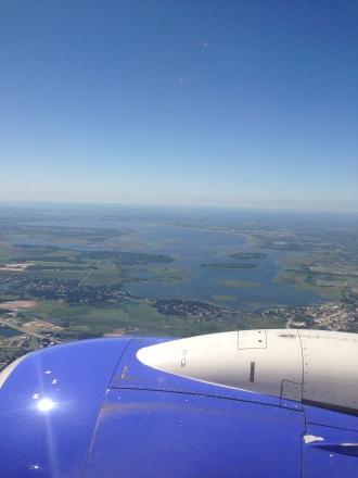 Landing in Orlando