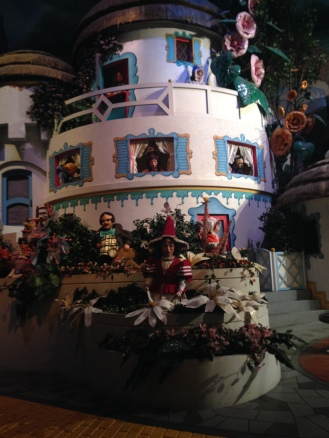 Wizard of Oz set inside the Movie Ride