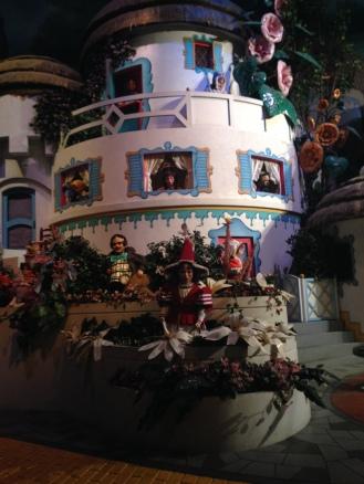 Wizard of Oz set inside the Movie Ride