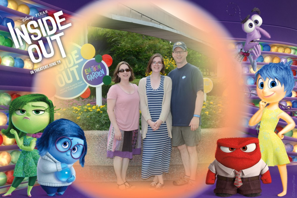 Promoting the movie Inside Out