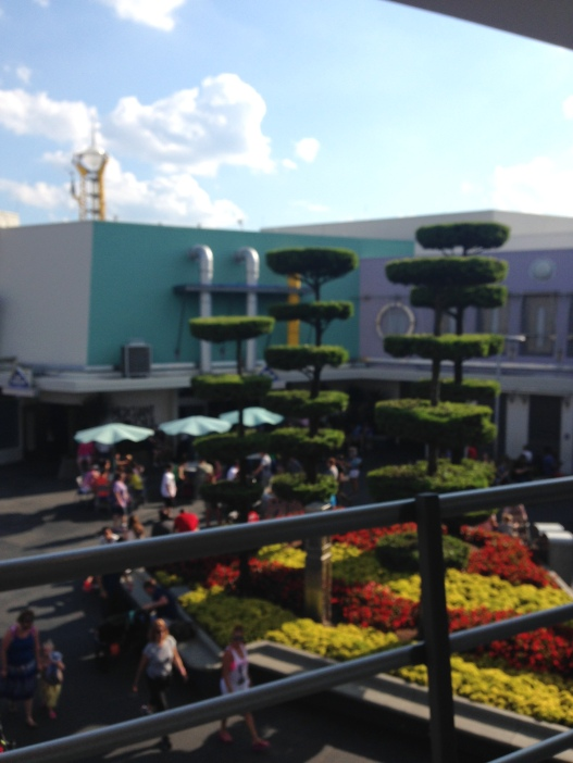 View from the People Mover