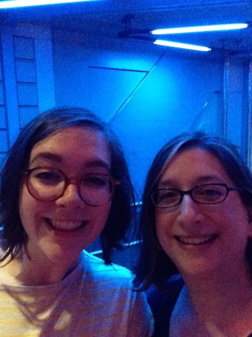 Selfie time inside Star Tours