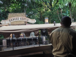 Jungle Cruise opened finally and the boat that pulled up was the Ganges Gertie