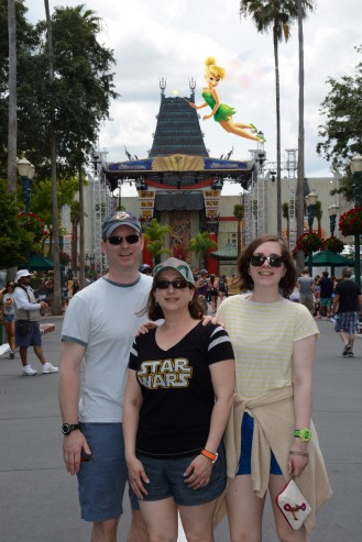 They took down the hat at Hollywood Studios!