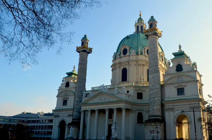 Exterior of St. Augustinekirche - Photo by Z.Dodge