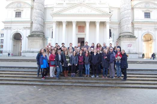 Group Photo in front St. Augustinekirche