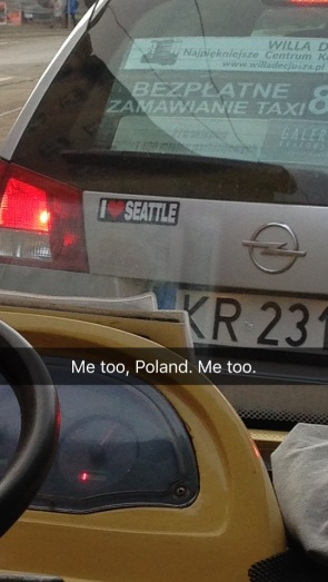 Apparently someone in Poland likes Seattle, WA!