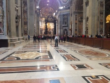 Inside the Vatican - Photo by A. Roland