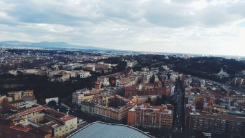 The view from San Pietro - Photo by Z. Dodge