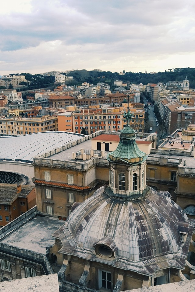 The view from St. Peter's Basilica - Photo by Z. Dodge