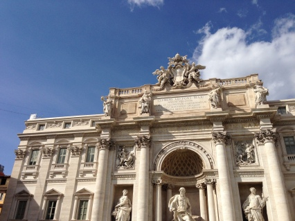 Trevi Fountain - Photo by A. Roland