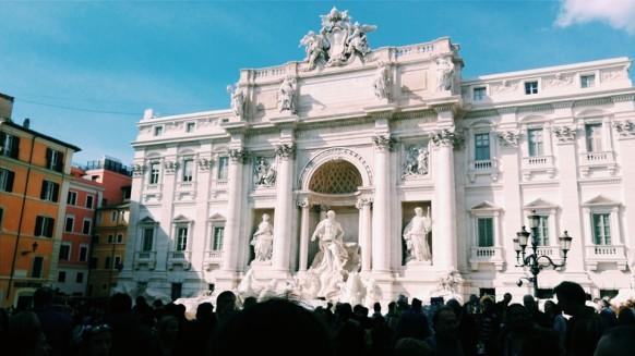 Fontana Di Trevi - Photo by Z. Dodge