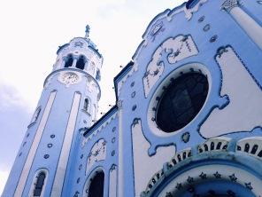 A church in Bratislava - Photo by A. Roland