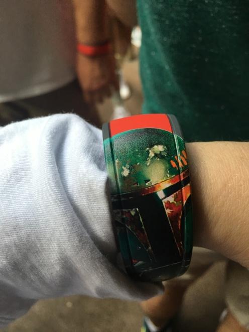 Boba Fett on my arm!
