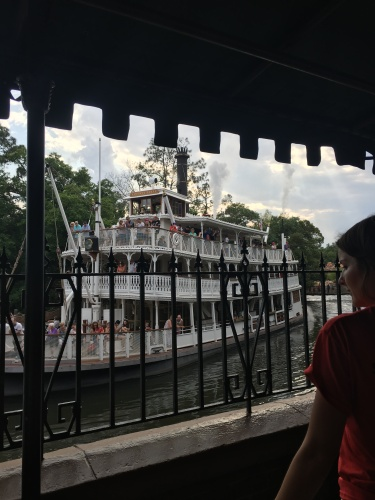 Riverboat near Haunted Mansion