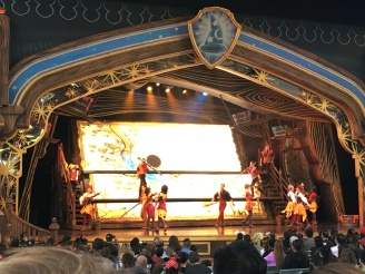 We stopped in for a performance of Mickey and the Magical Map.
