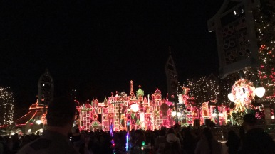 Small World at night is spectacular!
