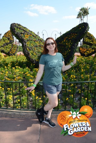 Butterfly season at Epcot!