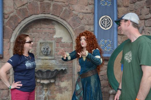 Merida talking about her brothers